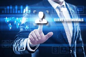 label recruiter client testimonial